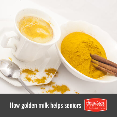 How Does Golden Milk Benefit the Elderly in Dallas, TX?
