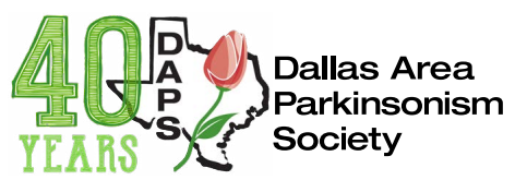 Dallas Area Parkinsonism Society 40 Year digital seal