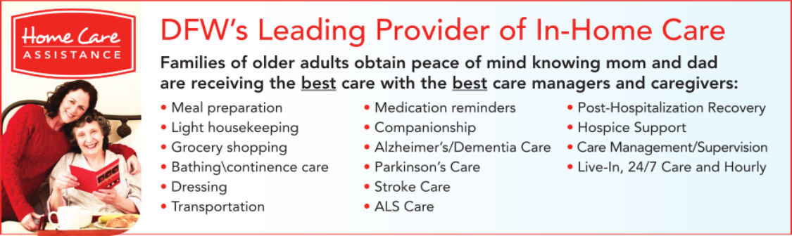 DFW's Leading Provider of In-Home Care
